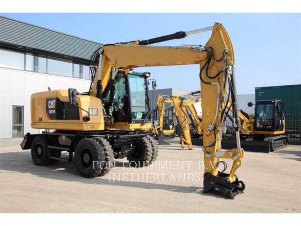 Caterpillar M314F, pelles sur pneus, Équipement De Construction