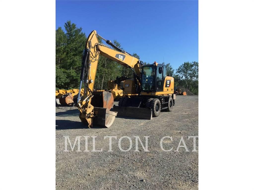 Caterpillar M314F, excavadoras de ruedas, Construcción
