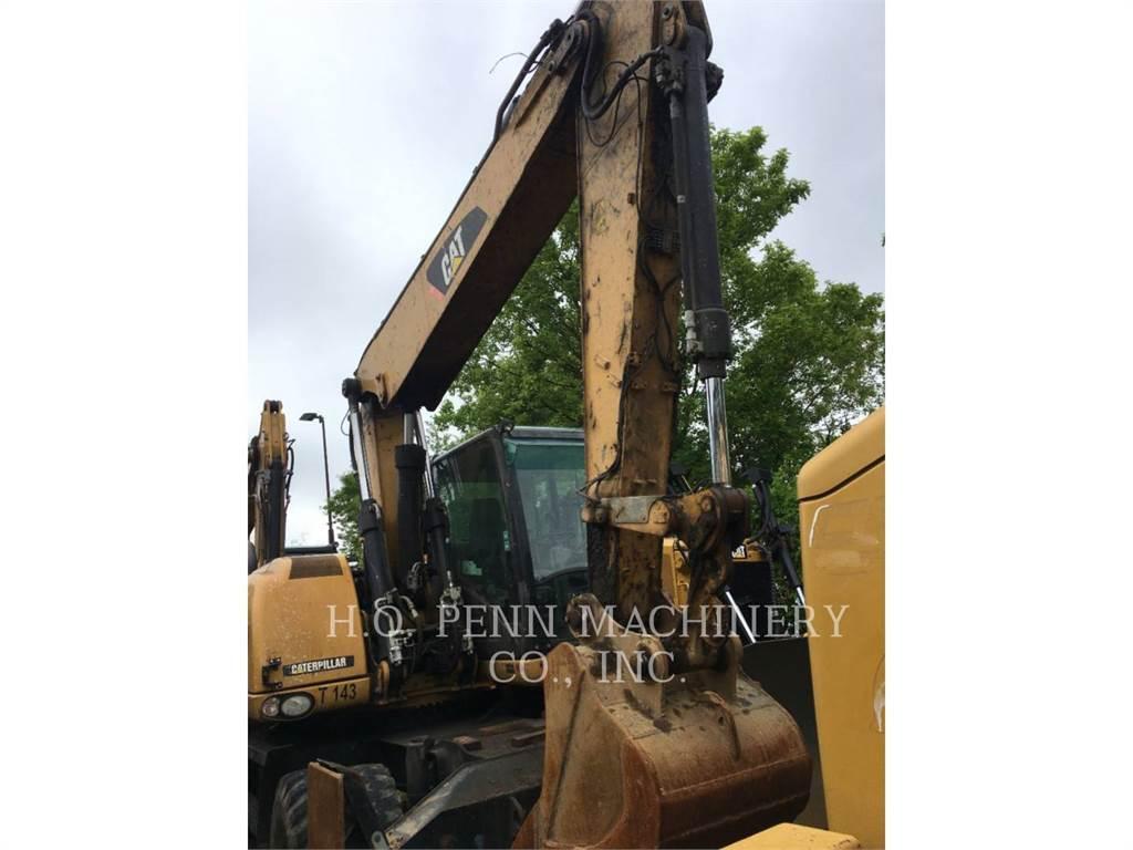 Caterpillar M315 D, wheel excavator, Construction