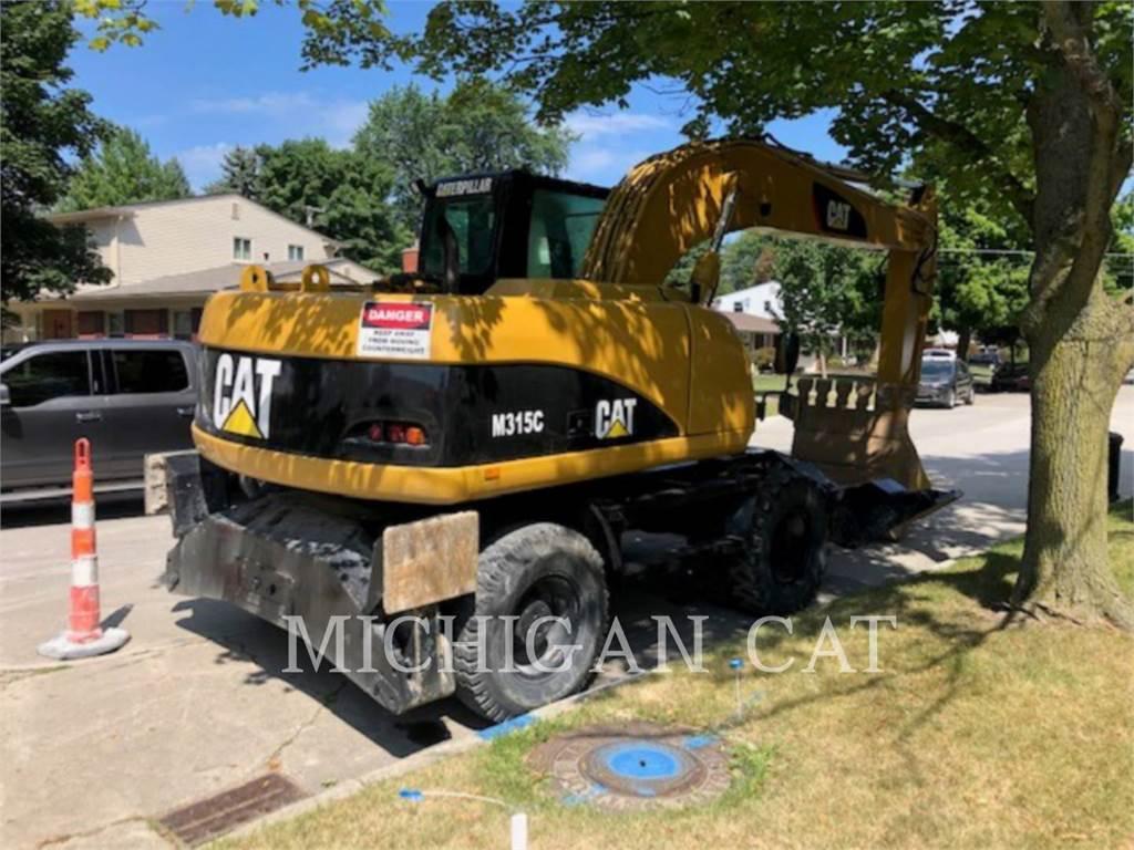 Caterpillar M315C, mobilbagger, Bau-Und Bergbauausrüstung