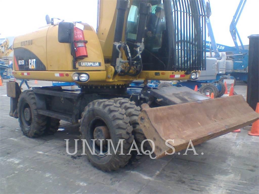 Caterpillar M315D, excavadoras de ruedas, Construcción