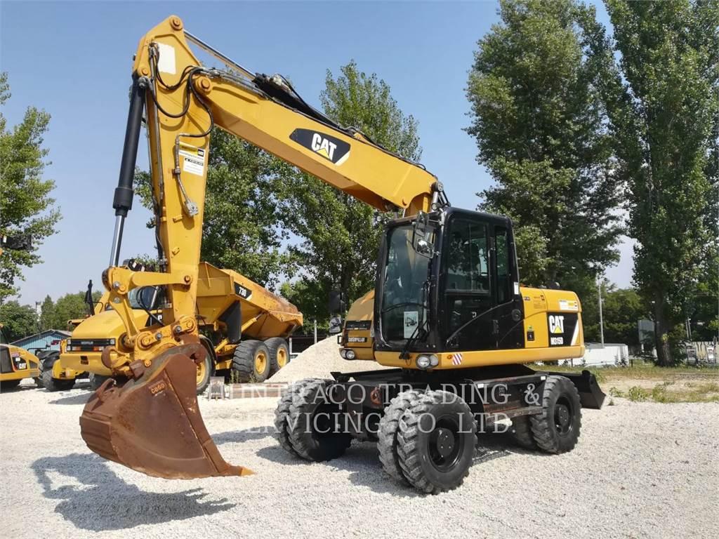 Caterpillar M315D, koparki kołowe, Sprzęt budowlany