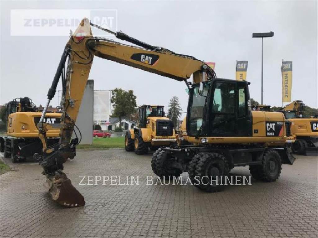 Caterpillar M315D、轮式挖掘机、建筑设备
