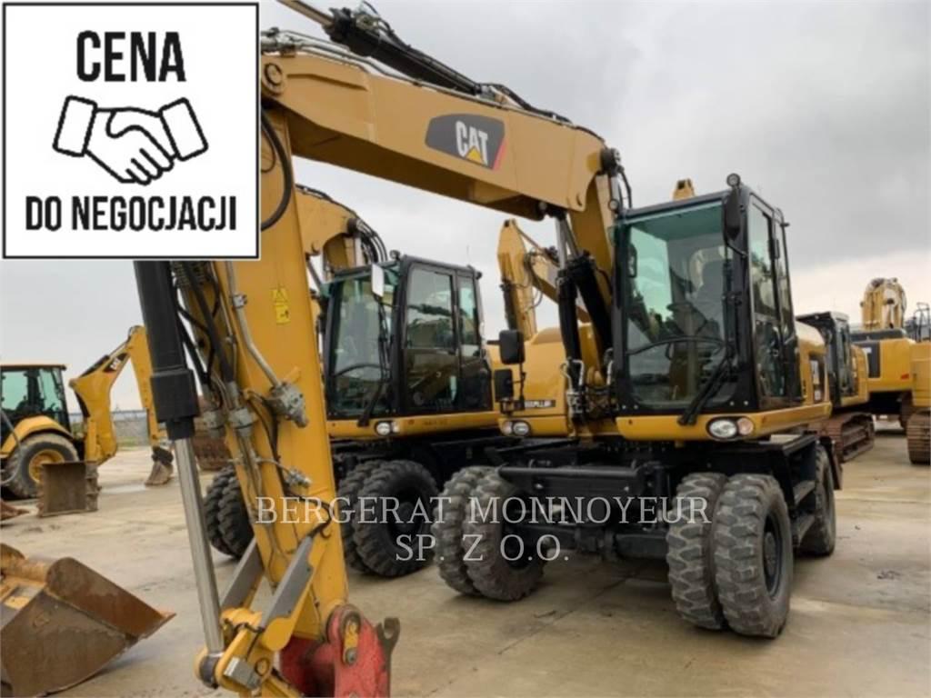 Caterpillar M315D, wheel excavator, Construction