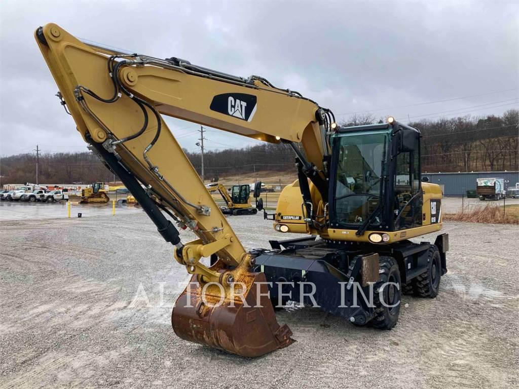 Caterpillar M315D, escavadeiras de rodas, Equipamentos Construção