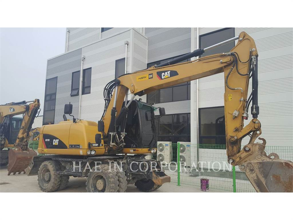 Caterpillar M315D2, wheel excavator, Construction