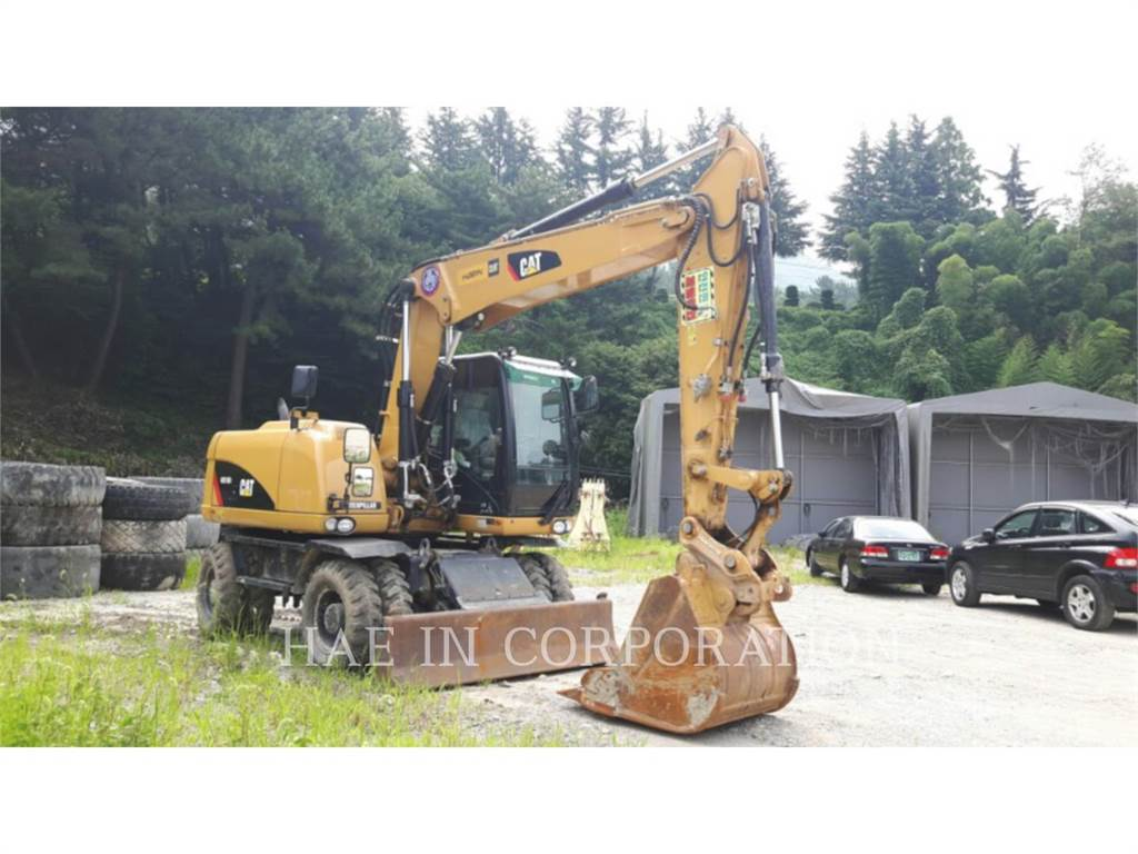Caterpillar M315D2, excavadoras de ruedas, Construcción