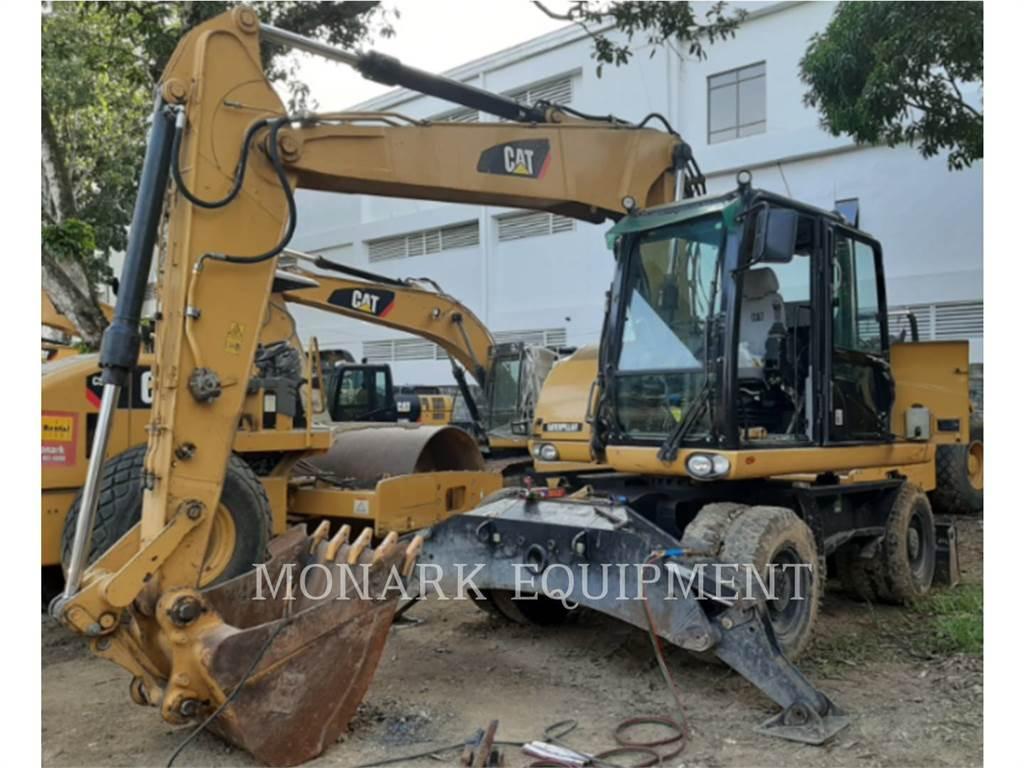 Caterpillar M315D2, wheel excavator, Construction