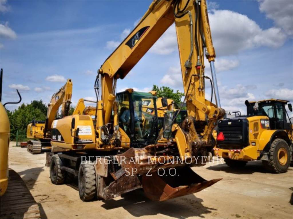 Caterpillar M316C, колесные экскаваторы, Строительное