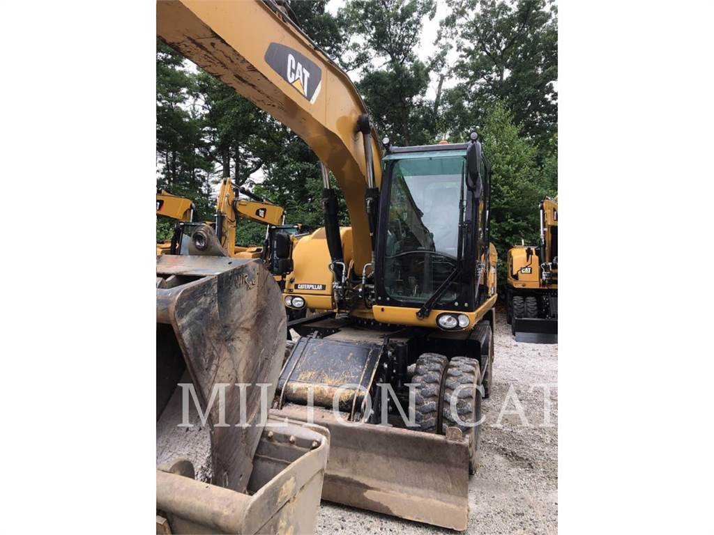 Caterpillar M316D, escavatori gommati, Attrezzature Da Costruzione