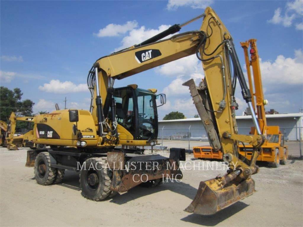 Caterpillar M316D, koparki kołowe, Sprzęt budowlany