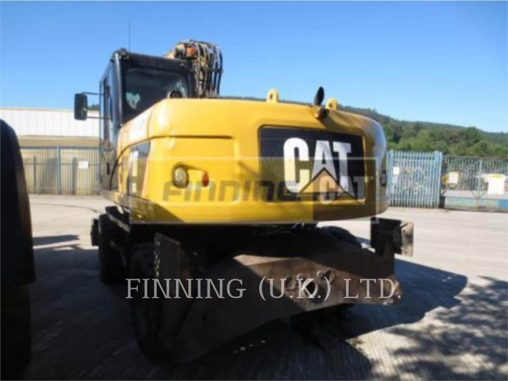 Caterpillar M316D, wheel excavator, Construction
