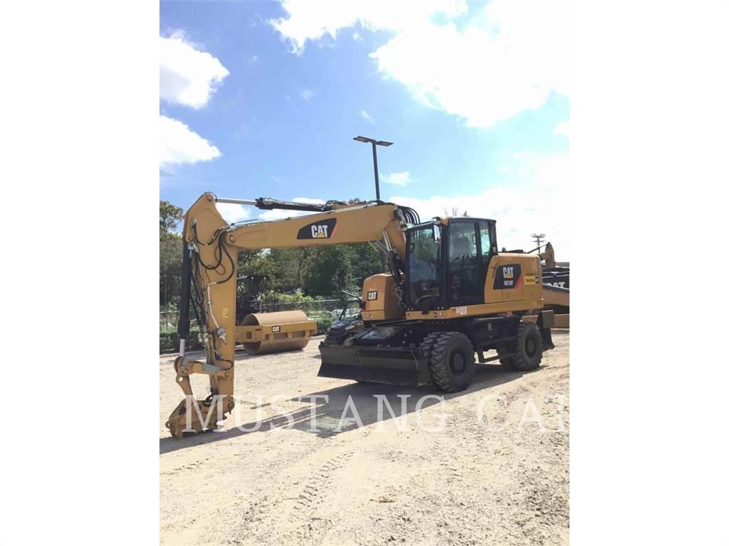 Caterpillar M316F, pelles sur pneus, Équipement De Construction