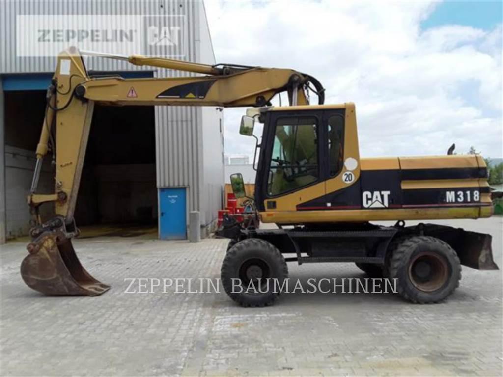 Caterpillar M318, escavatori gommati, Attrezzature Da Costruzione