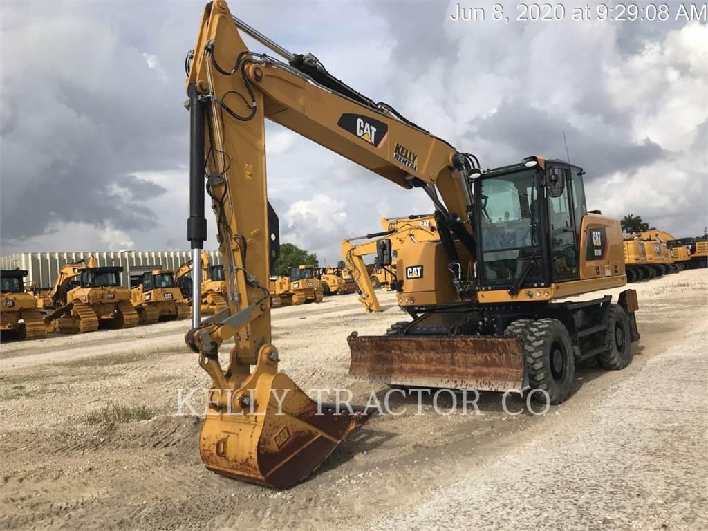 Caterpillar M318 F, wheel excavator, Construction