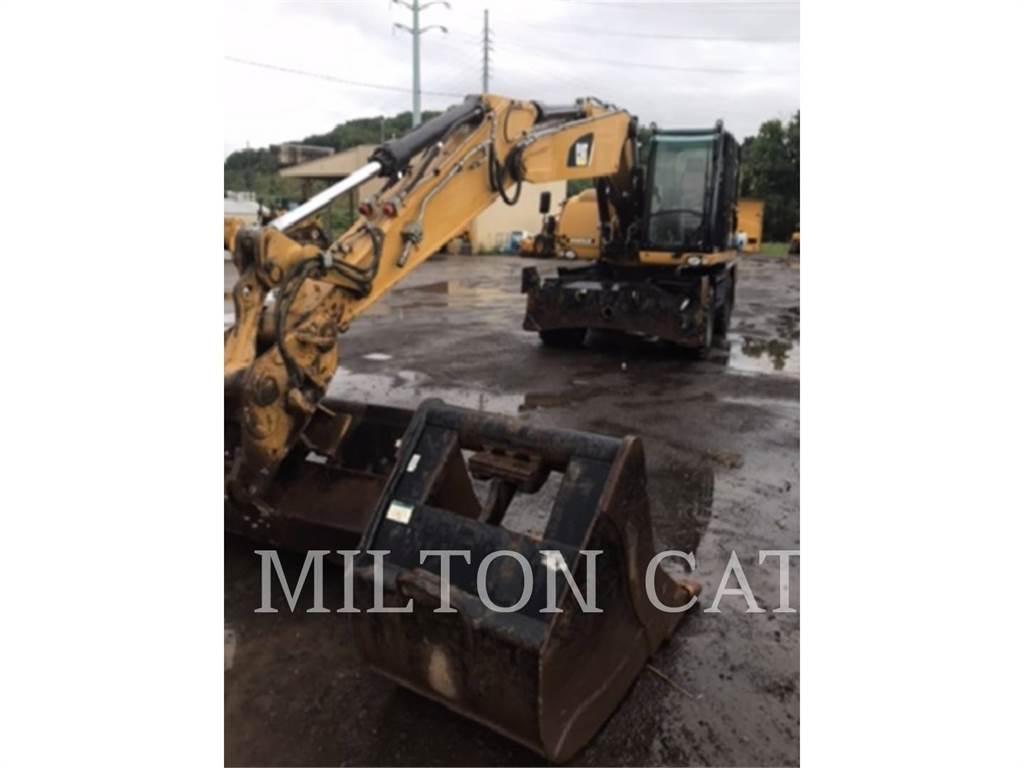 Caterpillar M318D, excavadoras de ruedas, Construcción