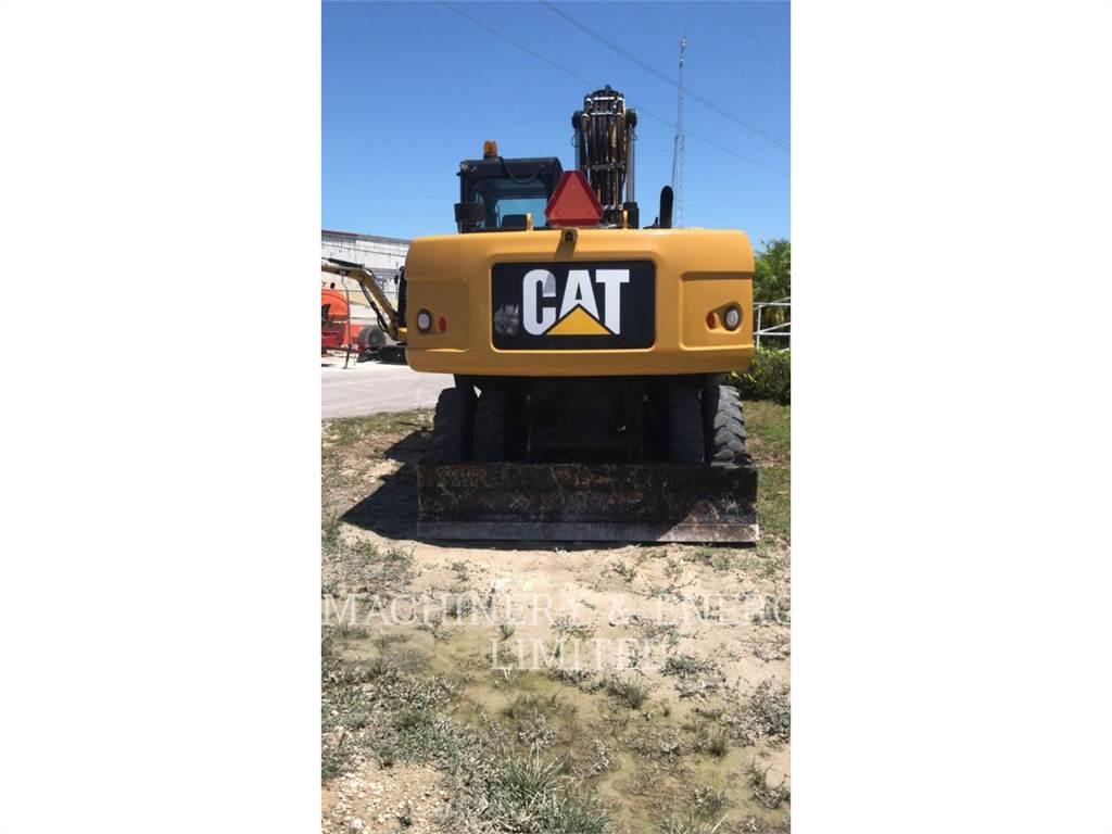 Caterpillar M318D, wheel excavator, Construction