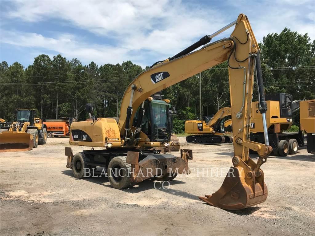 Caterpillar M318D, escavatori gommati, Attrezzature Da Costruzione