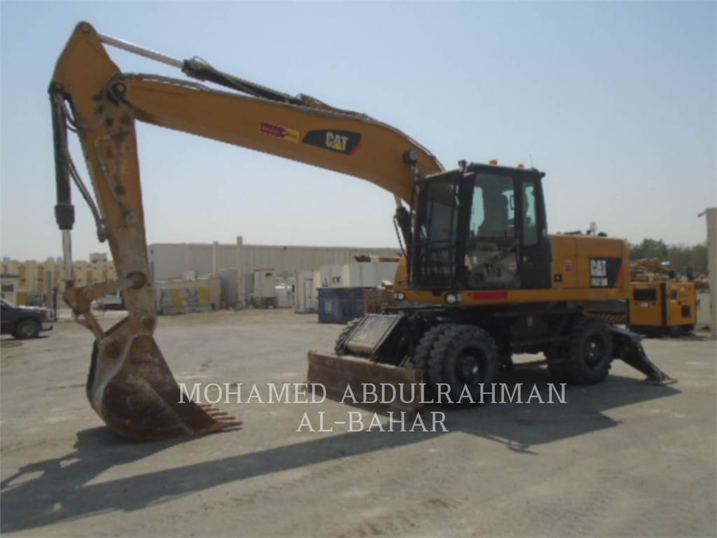 Caterpillar M318D, mobilbagger, Bau-Und Bergbauausrüstung