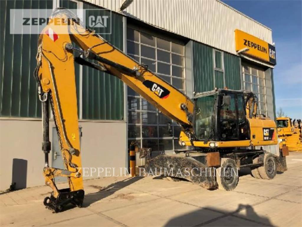 Caterpillar M318DMH, excavatoare pe roţi, Constructii