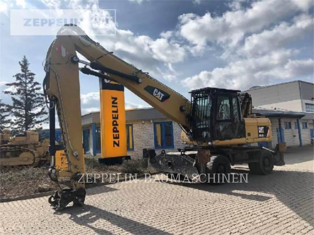 Caterpillar M318DMH, pelles sur pneus, Équipement De Construction