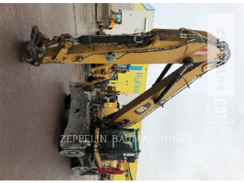 Caterpillar M318DMH, wheel excavator, Construction
