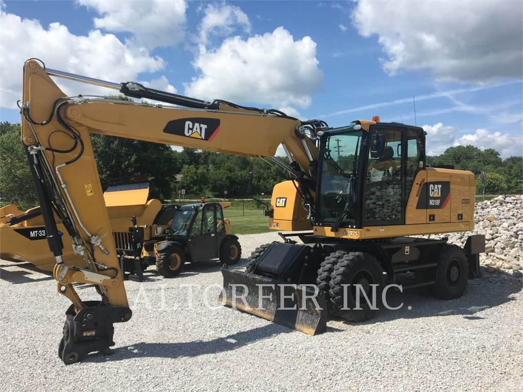 Caterpillar M318F, koparki kołowe, Sprzęt budowlany