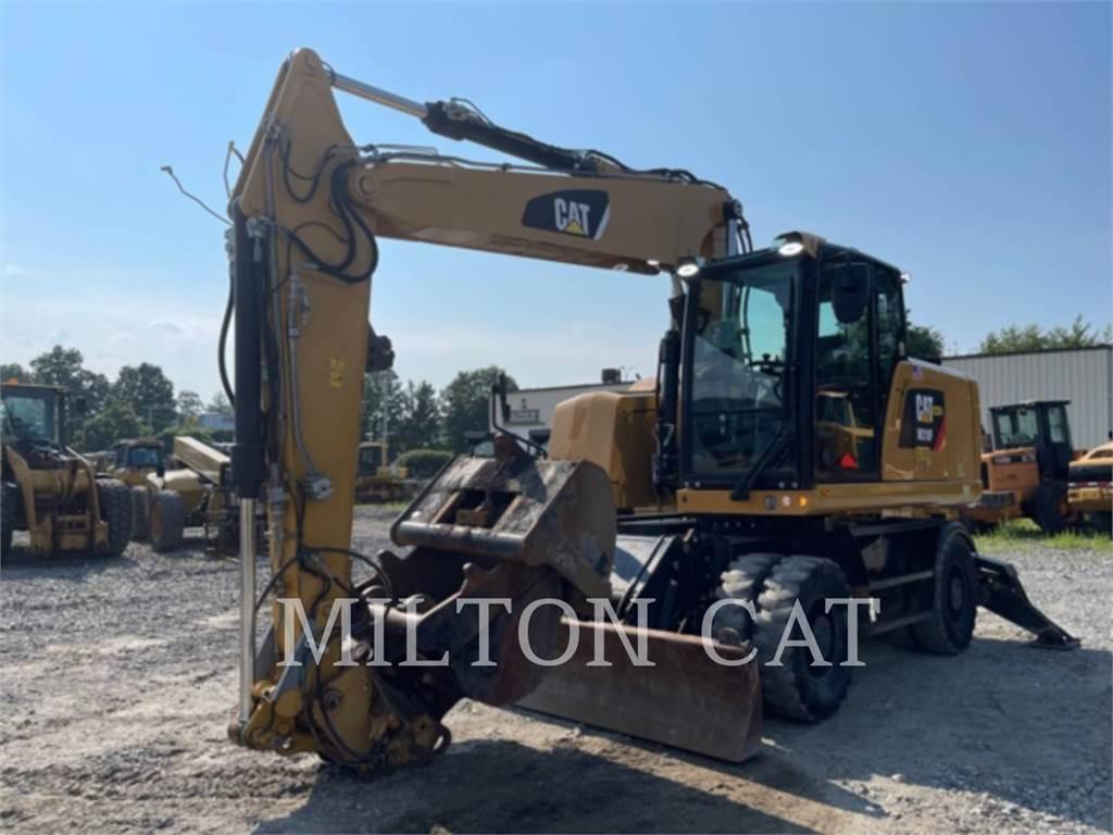 Caterpillar M318F, excavatoare pe roţi, Constructii