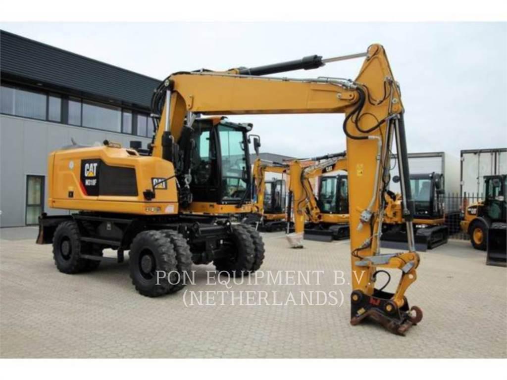 Caterpillar M318F, mobilbagger, Bau-Und Bergbauausrüstung