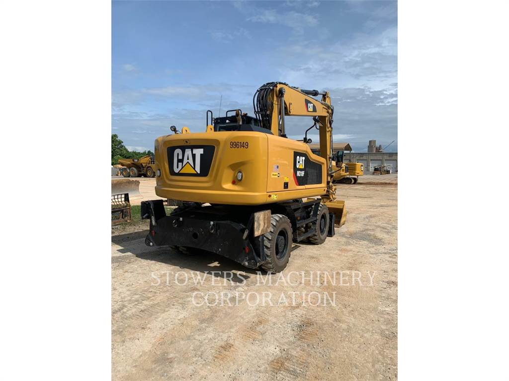 Caterpillar M318F, Crawler Excavators, Construction