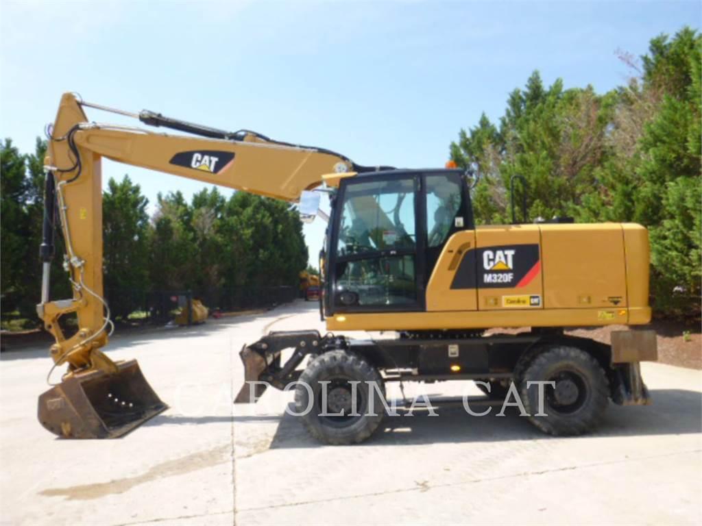 Caterpillar M320 F, pelles sur pneus, Équipement De Construction