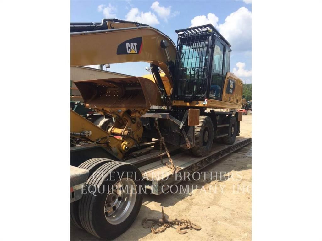 Caterpillar M320F、轮式挖掘机、建筑设备