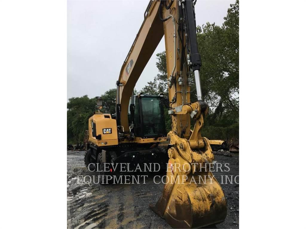 Caterpillar M320F, escavatori gommati, Attrezzature Da Costruzione