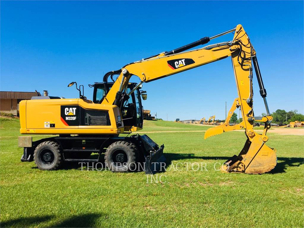 Caterpillar M320F, mobilbagger, Bau-Und Bergbauausrüstung