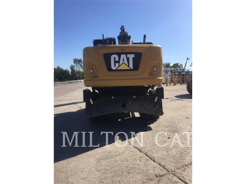 Caterpillar M320F, колесные экскаваторы, Строительное