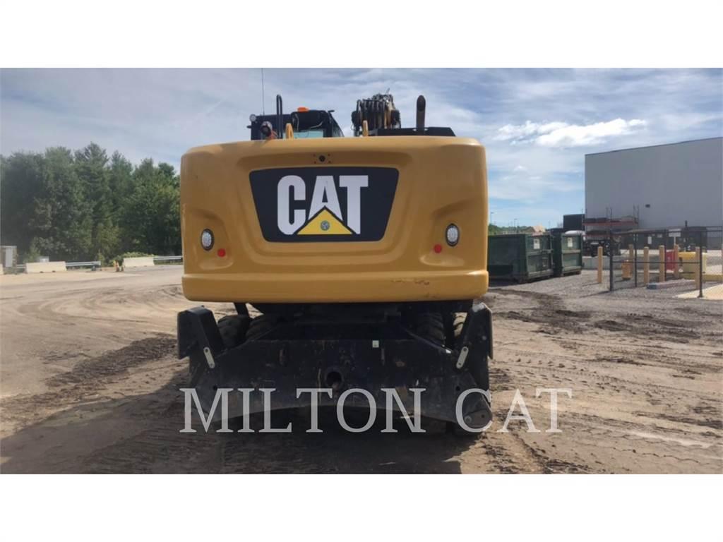 Caterpillar M320F, wheel excavator, Construction