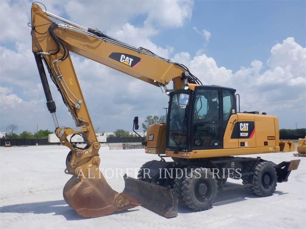 Caterpillar M320F, Crawler Excavators, Construction