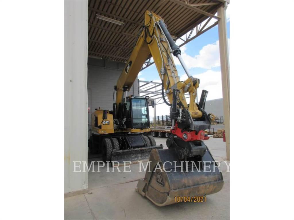 Caterpillar M320FL, Excavatoare pe senile, Constructii