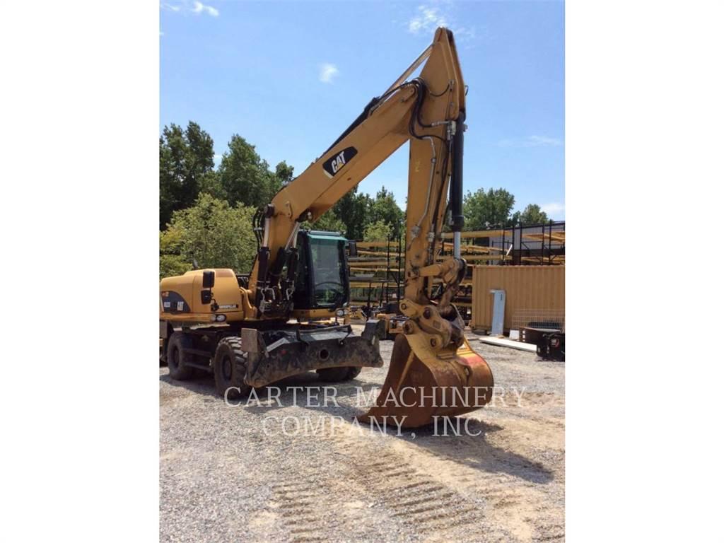 Caterpillar M322 D, wheel excavator, Construction