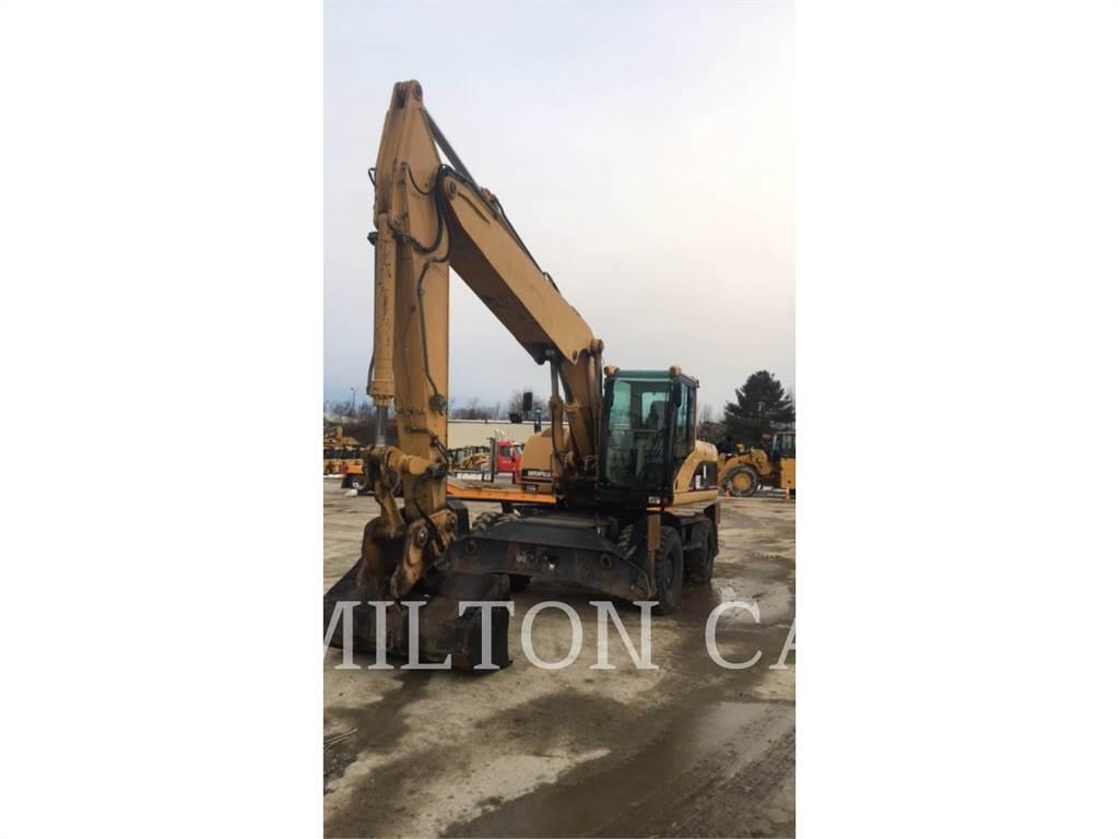 Caterpillar M322C, escavadeiras de rodas, Equipamentos Construção