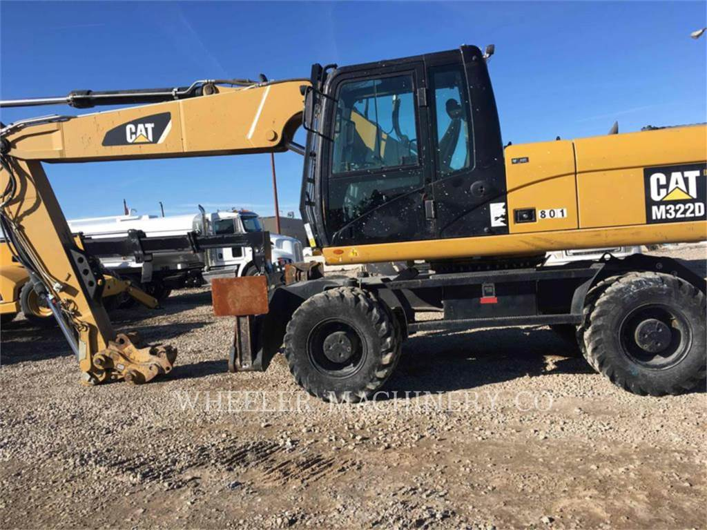 Caterpillar M322D, Crawler Excavators, Construction