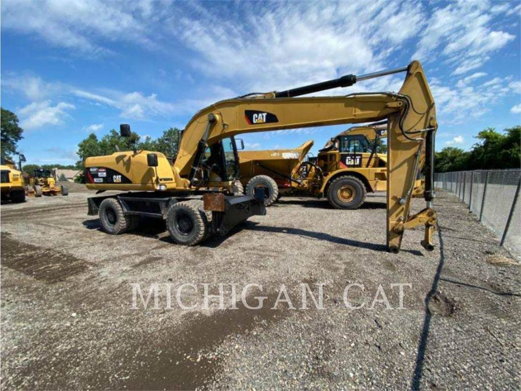 Caterpillar M322D, wheel excavator, Construction