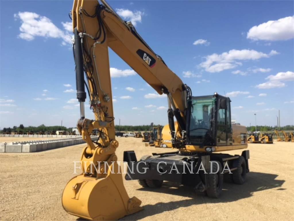 Caterpillar M322D, excavadoras de ruedas, Construcción