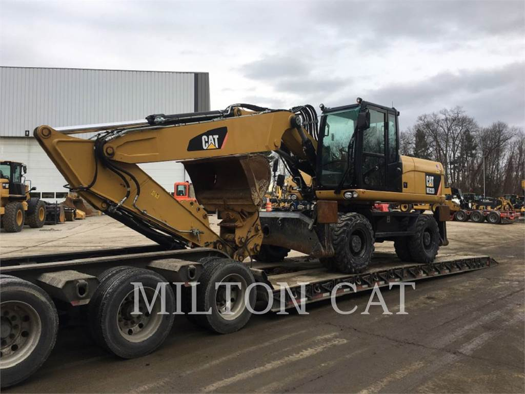 Caterpillar M322D, mobilbagger, Bau-Und Bergbauausrüstung