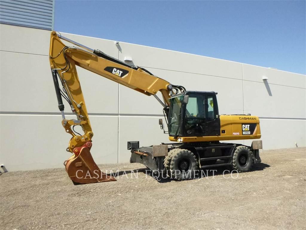 Caterpillar M322D, Escavadoras de rastos, Equipamentos Construção