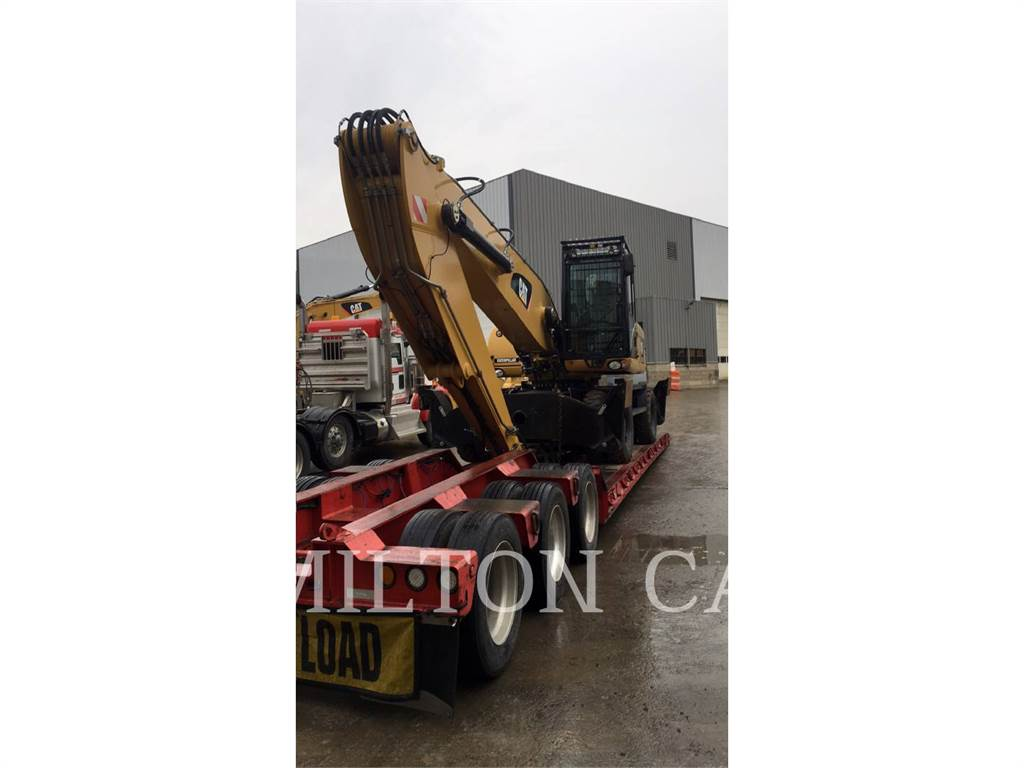 Caterpillar M322D MH, material handlers / demolition, Construction
