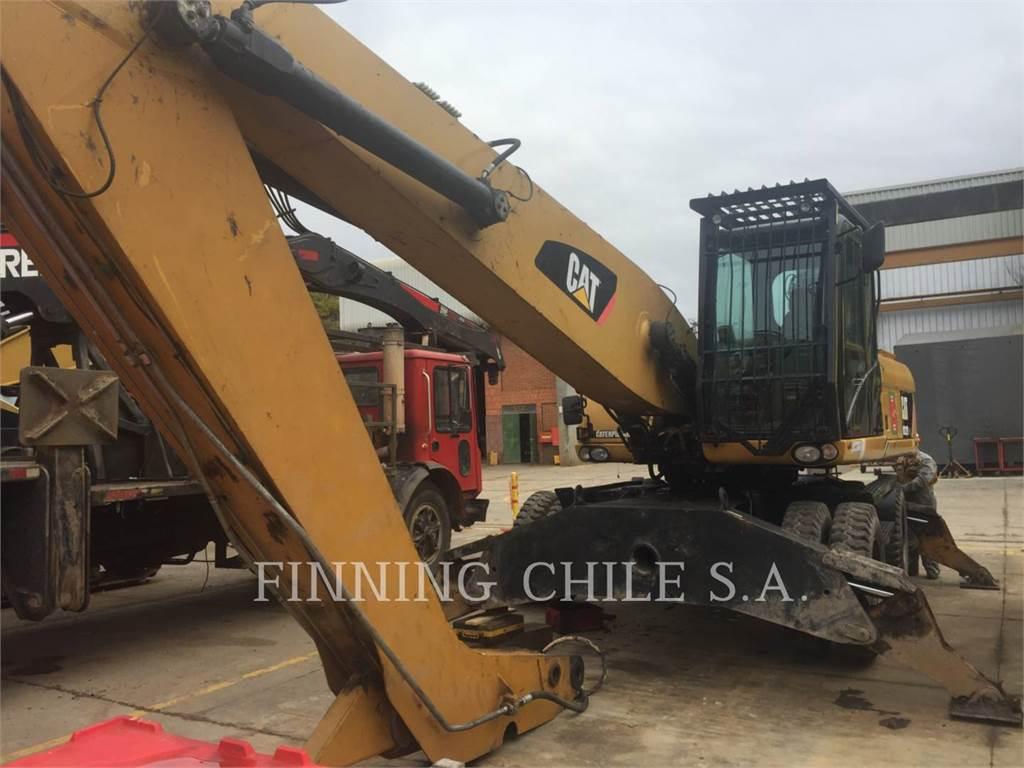 Caterpillar M322DMH, wheel excavator, Construction