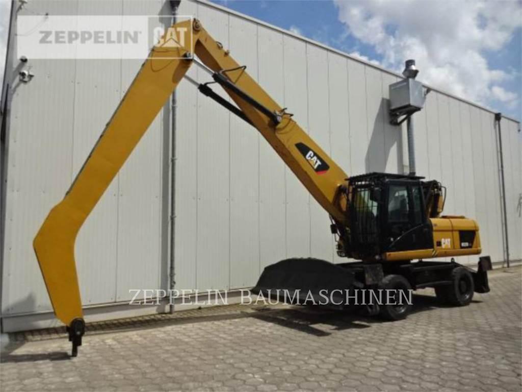 Caterpillar M322DMH, escavadeiras de rodas, Equipamentos Construção