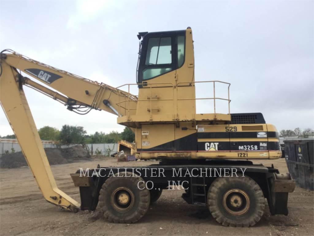 Caterpillar M325BMH、组装挖掘机、建筑设备