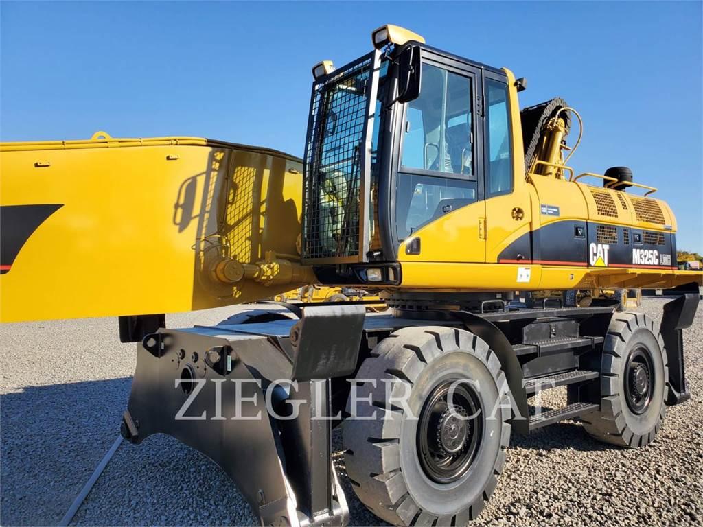 Caterpillar M325CL MH, wheel excavator, Construction